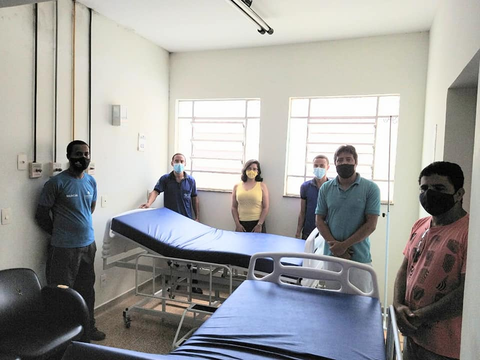 Hospital Nossas Senhora das Graças adquiriu novos leitos para suas enfermarias e para a Ala Covid.