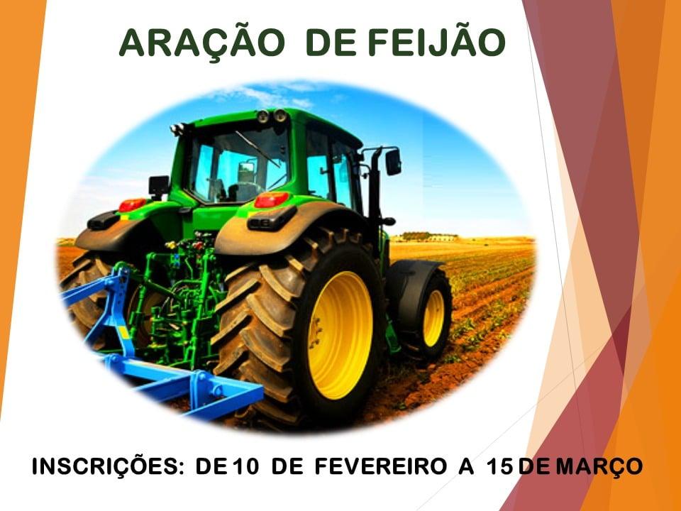 COMUNICADO PARA ARAÇÃO DE FEIJÃO 2021