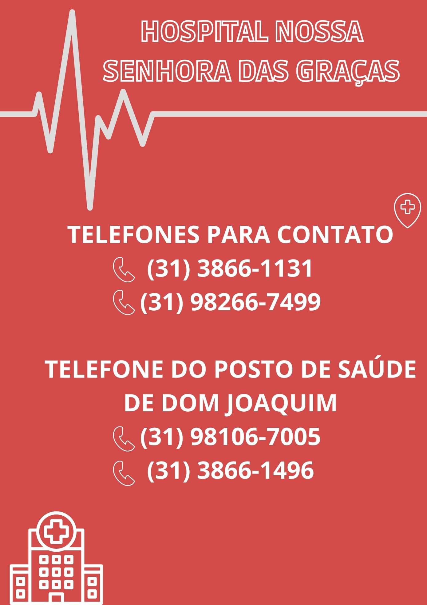 A Prefeitura de Dom Joaquim informa:
